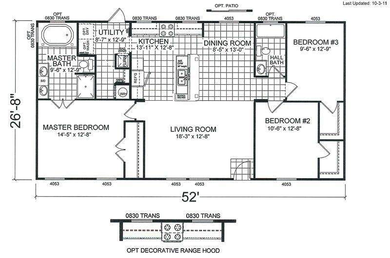 Double Wide Mobile Home Floor Plans With Affordable Mobile Home Floor Plans House Floor Plans Mobile Home Doublewide