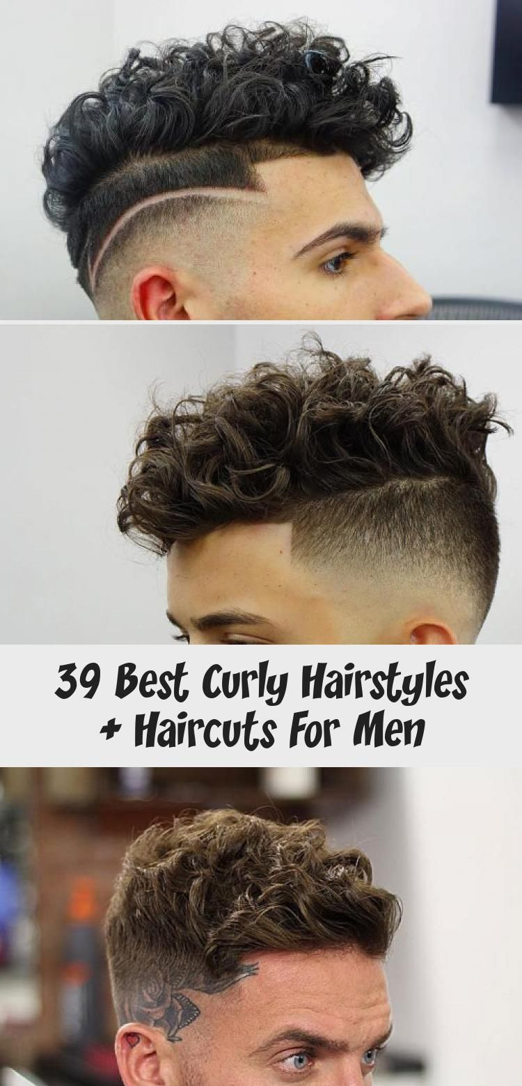 39 besten lockigen Frisuren + Haarschnitte für Männer