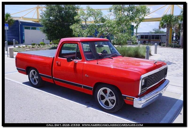 1987 Dodge RAM 100 Sweptli AmericanClassicCarSales