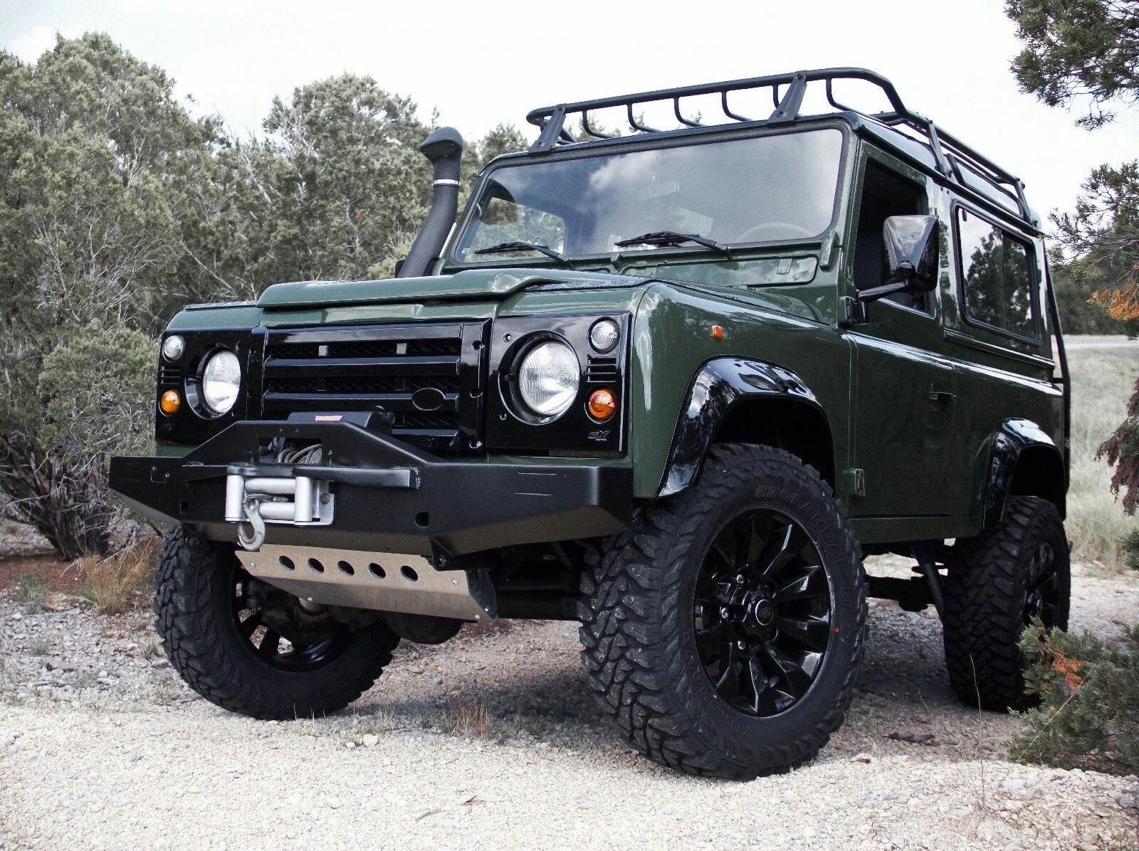 1992 land rover defender ford mustang car