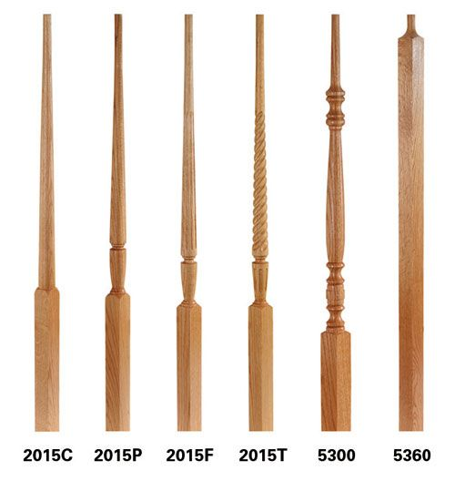 wood balusters stairway balusters cheap spindles for ...