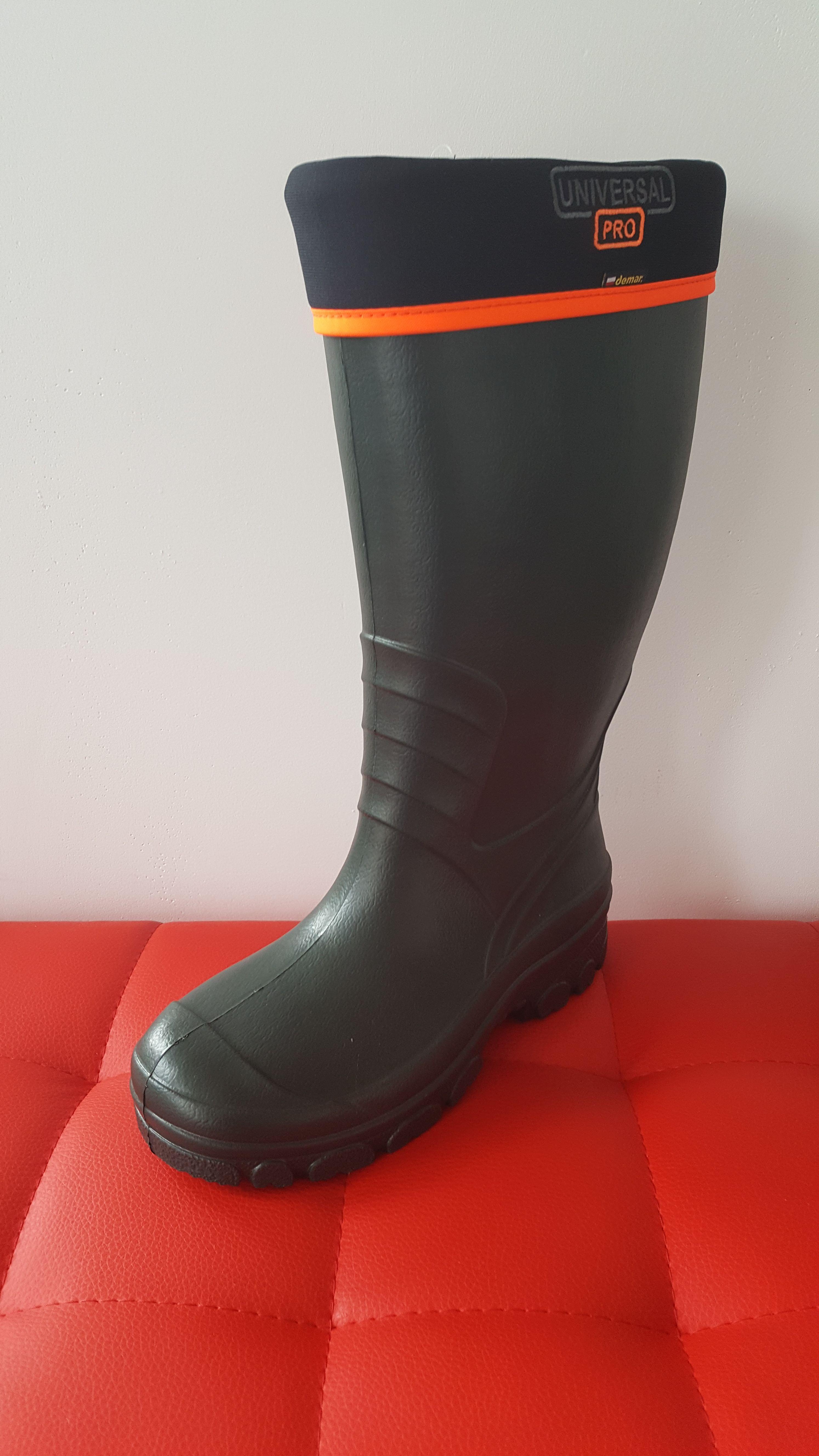 Buty Wedkarskie Mysliwskie Kalosze Piankowe Demar New Universal Pro Boots Hunter Boots Wellington Boot