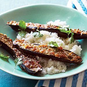Miso-Glazed Eggplant (Nasu Miso) - Sunset Magazine