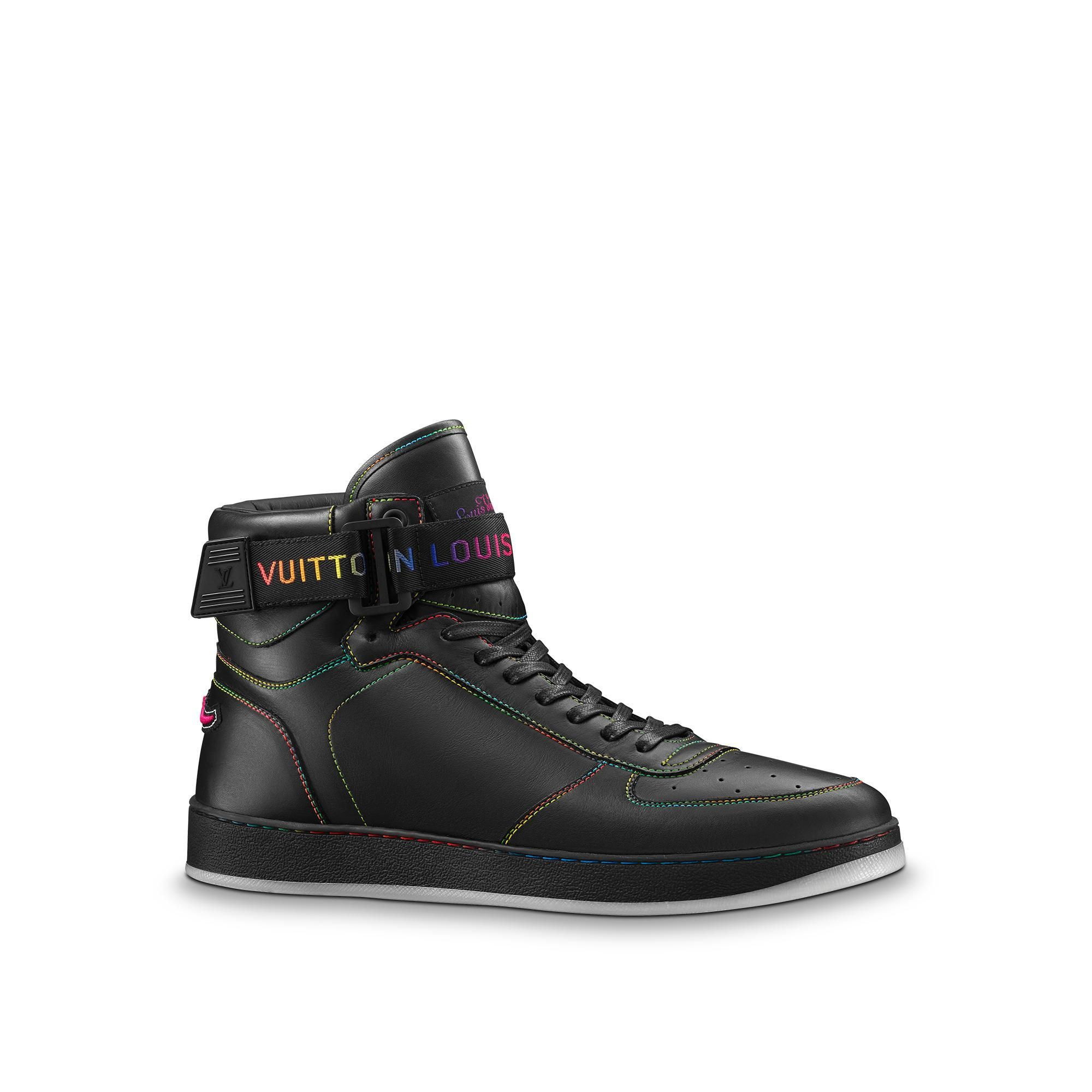 013aa7df35d7 Designer Sneakers for Men. LOUIS VUITTON Rivoli Sneaker.  louisvuitton   shoes