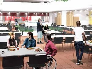 Inside A Revamped Dining Hall Rooted In Flexibility Dining Hall