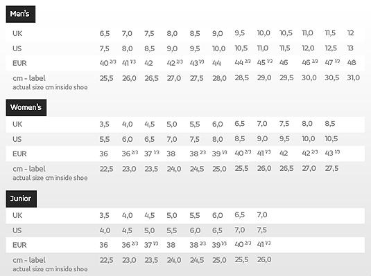 19 Beautiful Salomon Shoe Size Chart