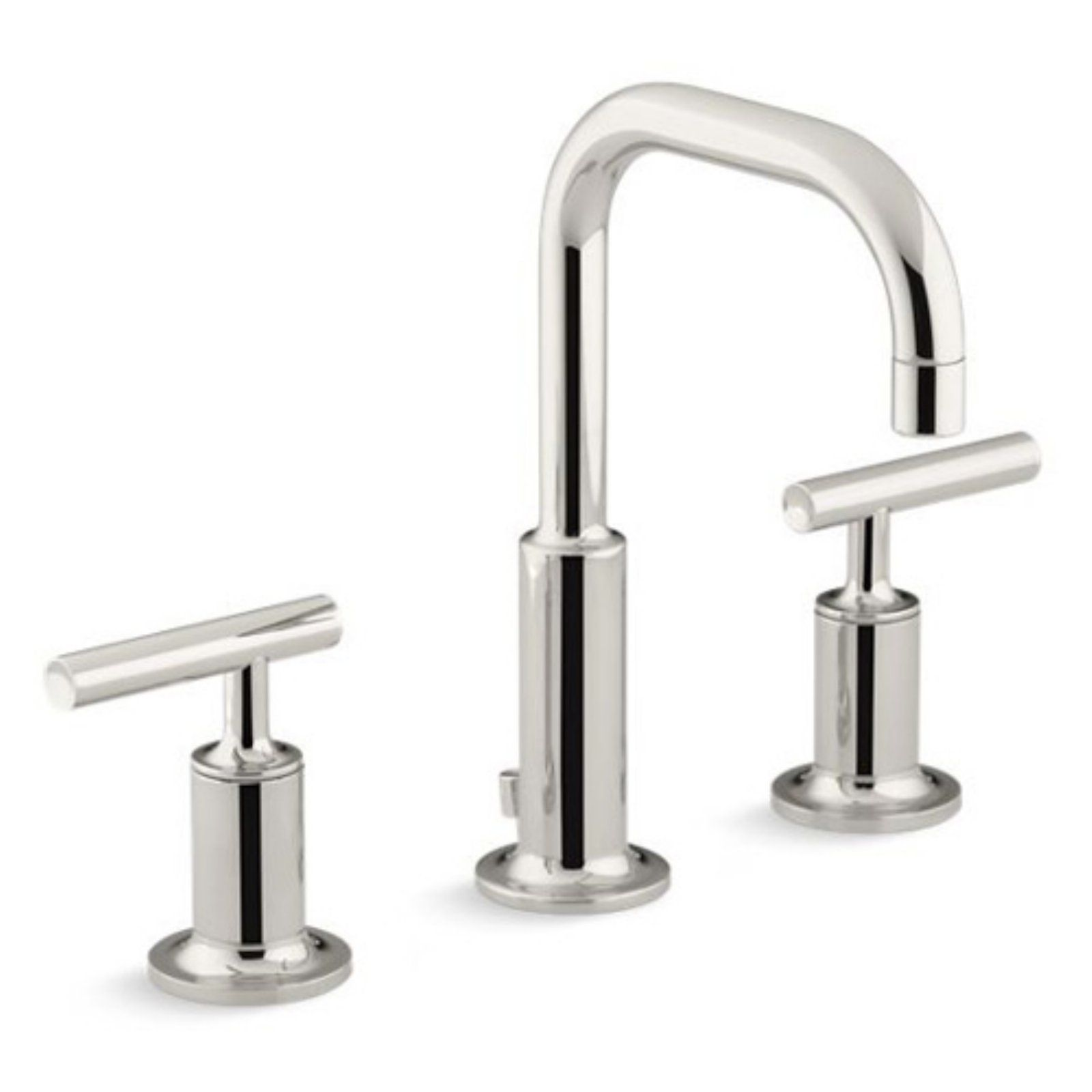 Kohler Purist Widespread Bathroom Sink Faucet With Low Lever