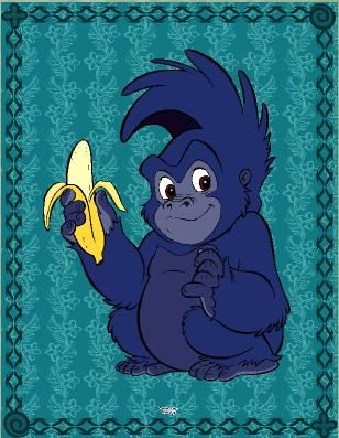 Tarzans Little Gorilla Friendaw