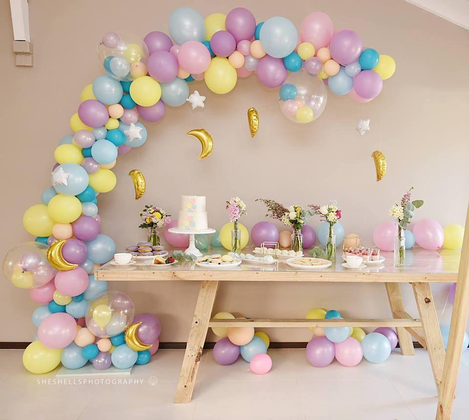 Pin De Dulce Solis Em Unicorns Birthday Decoracao Festa Infantil