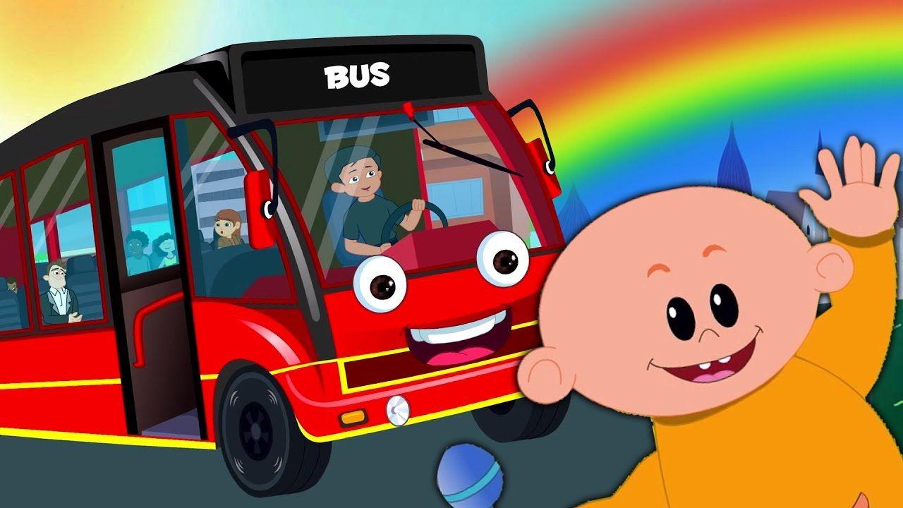 Wheels On The Bus Rhymes For Kids Children Songs Kids Poem