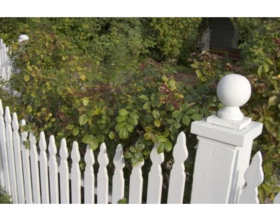 what do i need to install picket fence panels