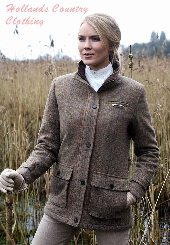 Jack Muephy Ladies Short tweed Jacket the Dundrum | Women with ...