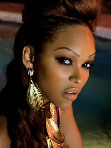 Something is. Meagan good sexy lips