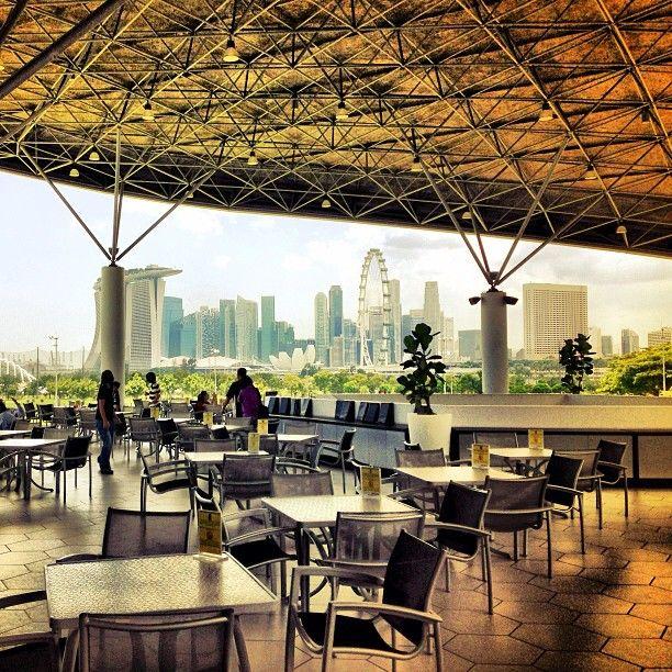 Canopy Cafe Marina Bay Golf Course Photo By Rebootsirius