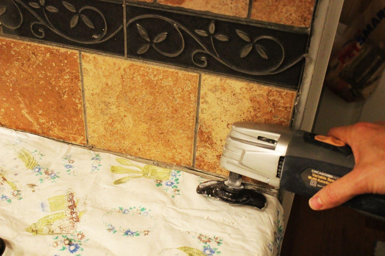 How to remove a kitchen tile backsplash kitchen tiles