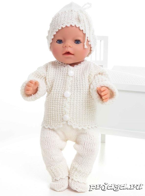 вязание для пупсов такой одежки разнообразит гардероб игрушек вашей