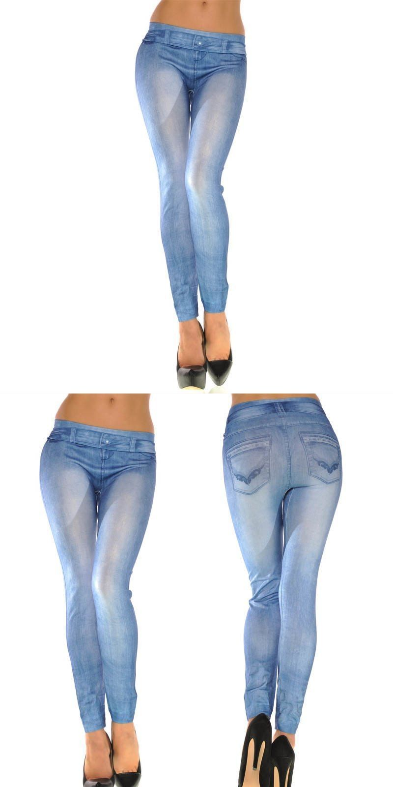 ab1de08b5d7 Female realistic denim printed cropped trousers women skinny solid color  denim stretch sexy soft beautiful tightsns  jeans  women  light  button   high  fly ...