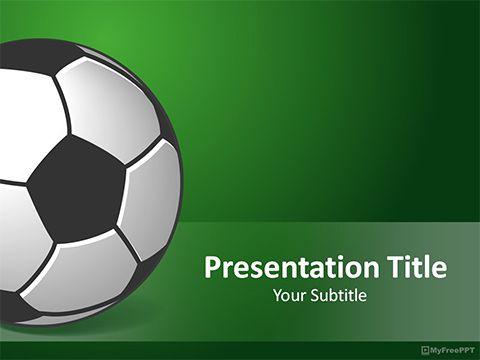 Soccer Powerpoint Template Soccer Pinterest Soccer Templates