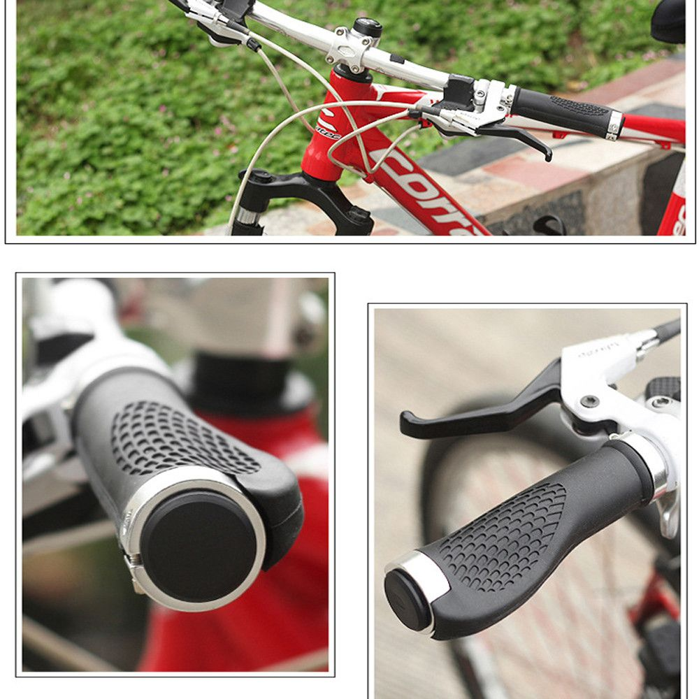 Mountain Bike Handlebar Grips Silica gel BMX Road MTB Bicycle Handlebar Grips