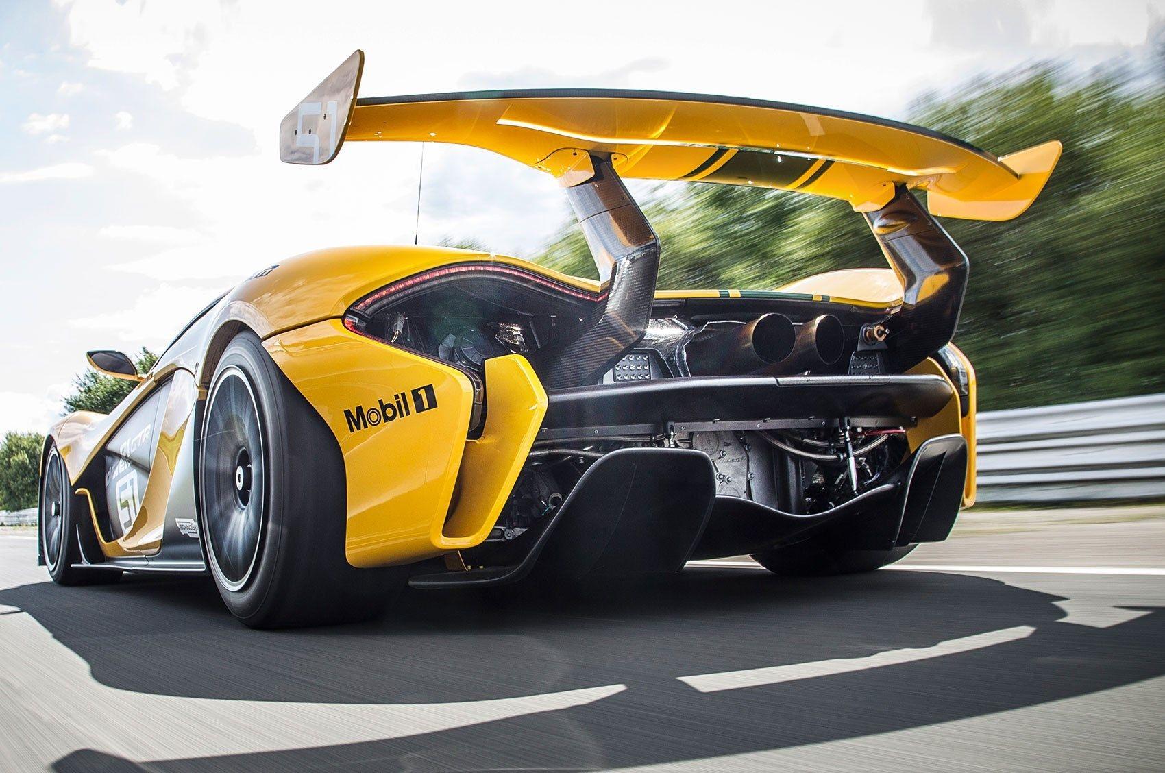 McLaren P1 GTR (2015)