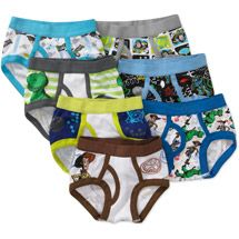 5pc Size 7 6-8 years Comfort Cotton Boys Boxer Briefs Lion Kids Underwear