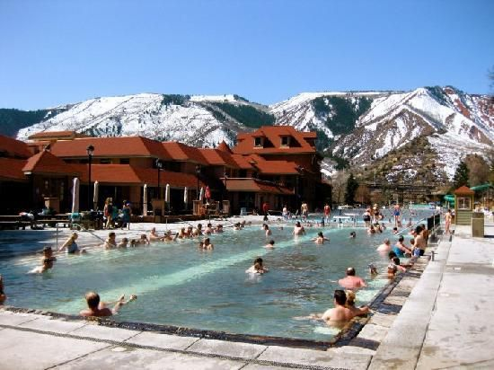 Glenwood Hot Springs Can T Wait For Winter Is A Great Time