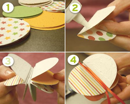 Christmas DIY Easy to make decorations All you need is a circle