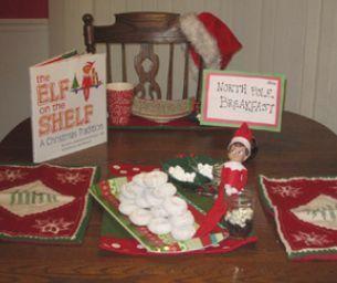 ELF ON THE SHELF BRINGS A NORTH POLE BREAKFAST #northpolebreakfast ELF ON THE SHELF BRINGS A NORTH POLE BREAKFAST ,  #Breakfast #brings #Elf #North #Pole #Shelf #northpolebreakfast
