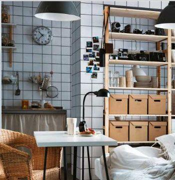 Carrelage Et Croisillon Noir Interieur Maison Ikea Galeries De