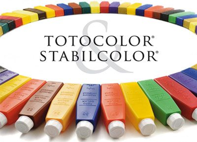 TOTOCOLOR (organic pigments based) and STABILCOLOR ...