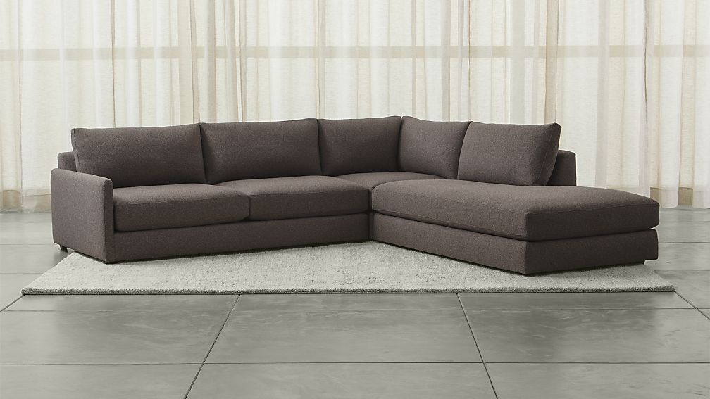 Drake 3 Piece Sectional Sofa Gravel 3 Piece Sectional Sofa Sectional Sofa 3 Piece Sectional