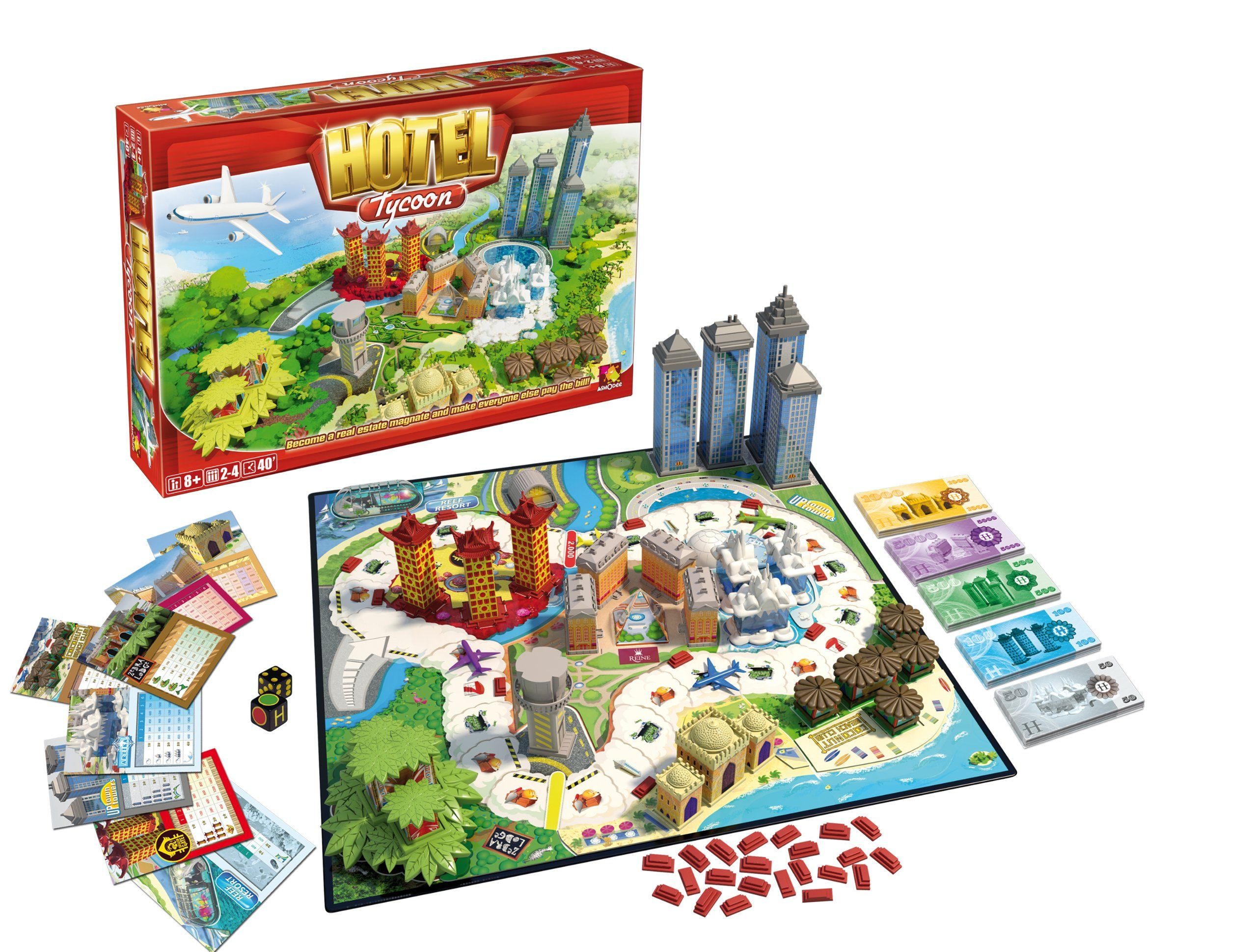 Hotel Tycoon Board Game: Esdevium Games: Amazon.co.uk: Toys & Games