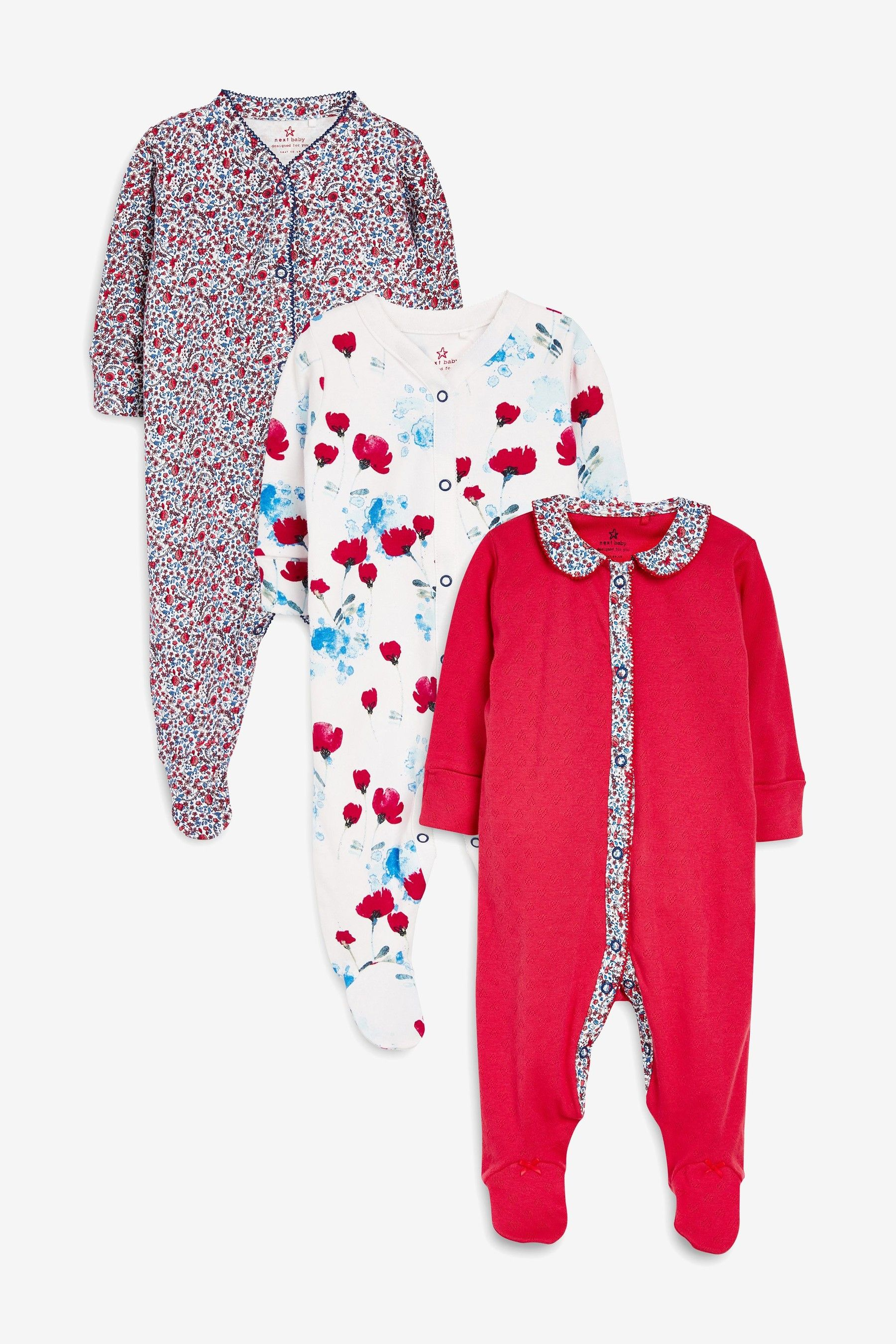 Toddler Baby Girls Bodysuit Short-Sleeve Onesie Heart Dance Print Jumpsuit Winter Pajamas