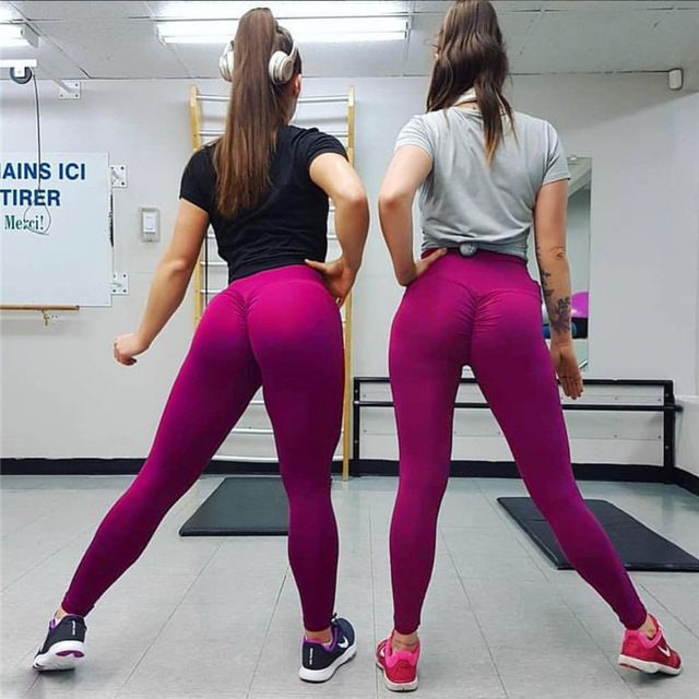 b833bf7506199 Oberlo - NORMOV High Waist Fitness Leggings Women Push Up Workout Legging  with Pockets Patchwork Leggins Pants Women Fitness Clothing