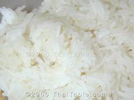 Coconut Milk Sticky Rice Recipe - ThaiTable.com