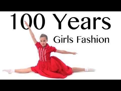 ccbf5882b 100 Years of Girls Fashion — Lammily — Music by Edvin Marton ...
