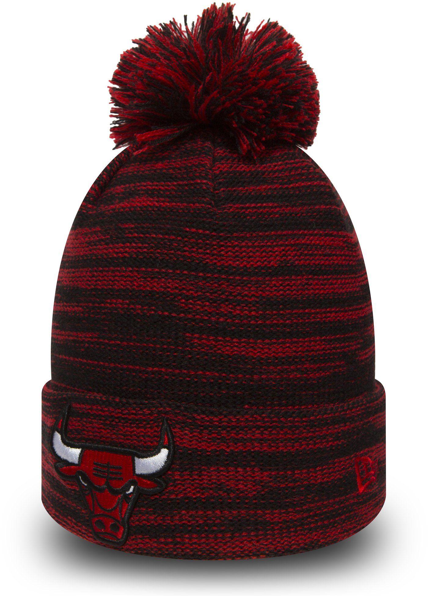 Chicago bulls new era marl knit bobble hat lovemycap