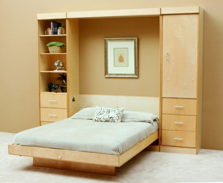 Best Bedroom Ideal Wall Beds Options Wall Beds With Shelves 640 x 480