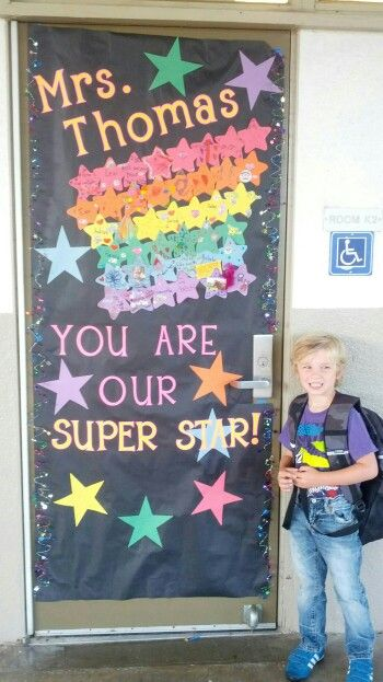Teacher appreciation, door decorating #custodianappreciationgifts