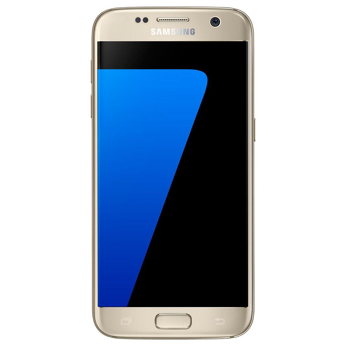 Celular Smartphone Samsung Galaxy S7 G930F Dourado - 4G, Tela 5.1 S...
