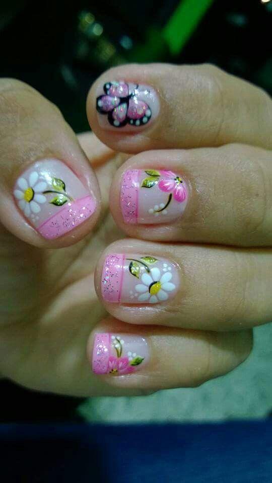 Arte en tus uñas mery   uñas   Pinterest   Arte en tus uñas, Uña ...