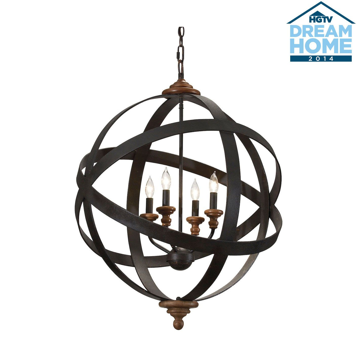 Four light armillary chandelier ethan allen us a smaller four light armillary chandelier ethan allen us a smaller scale for mozeypictures Images