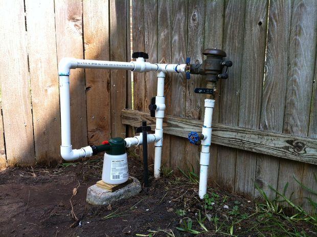 Diy Pest Control Through Lawn Sprinkler System Diy Pest Control Lawn Sprinkler System Irrigation System Diy