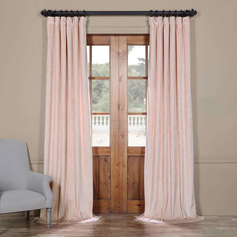 Plush Velvet Curtain