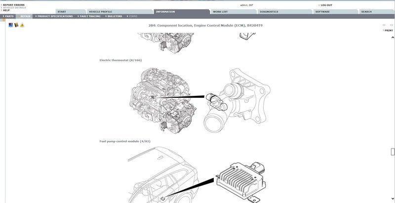 VOLVO S80 Workshop Service Repair Manual Download en 2020