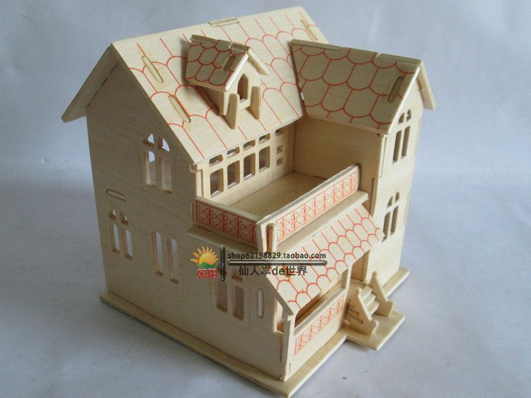 Elegant Cheap Puzzle Desk, Buy Quality Puzzle Toy Directly From China Toy Blow  Suppliers:[Free Shipping][3D Wood Puzzles]Longan Wood Simulation,3d House  Inu2026