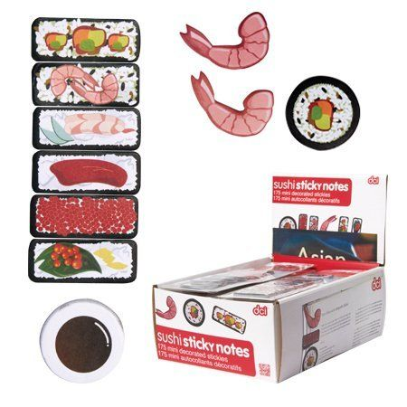 DCI Sushi Sticky Notes by Décor Craft Inc., http://www.amazon.com/dp/B009GN91IY/ref=cm_sw_r_pi_dp_9maUrb0HQZPJR
