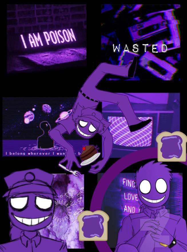 Fnaf Purple Guy Collage Fnaf Wallpapers Anime Fnaf Fnaf Drawings