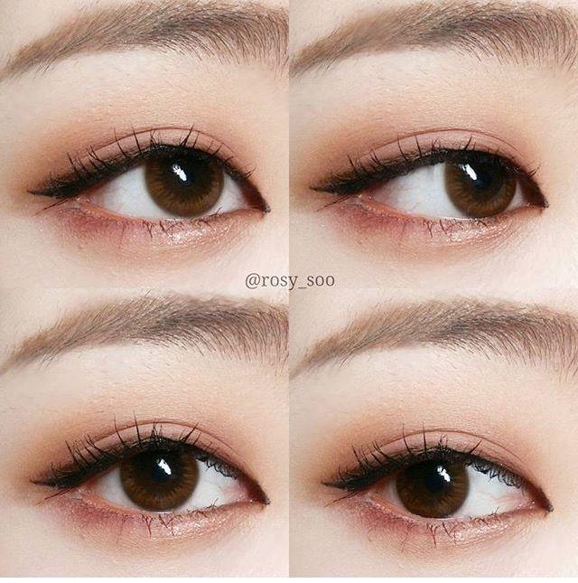 Корейский макияж для глаз поэтапно 73