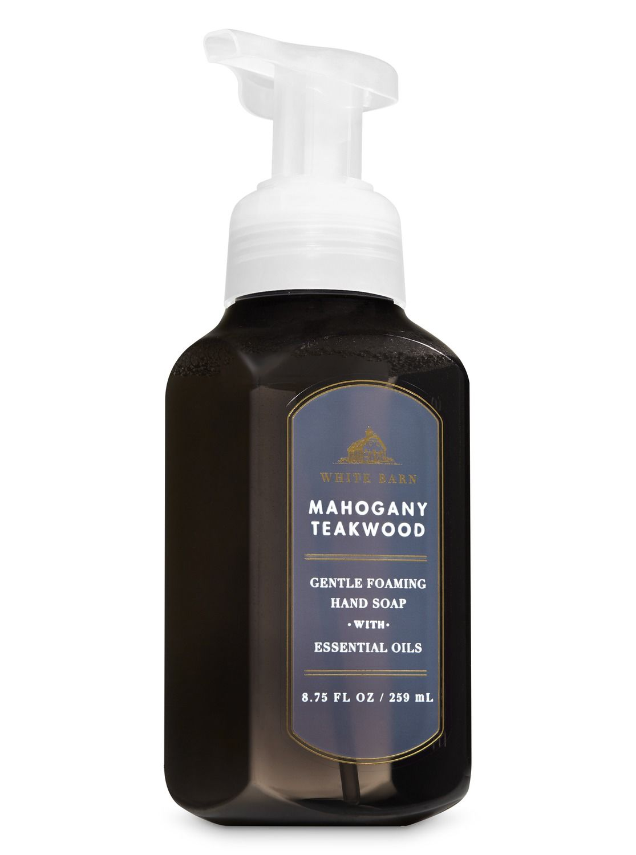White Barn Mahogany Teakwood Gentle Foaming Hand Soap By